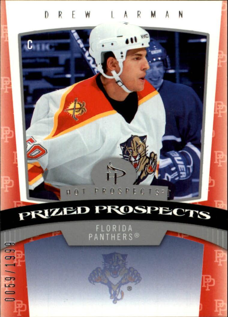 2006-07 Hot Prospects #159 Drew Larman RC