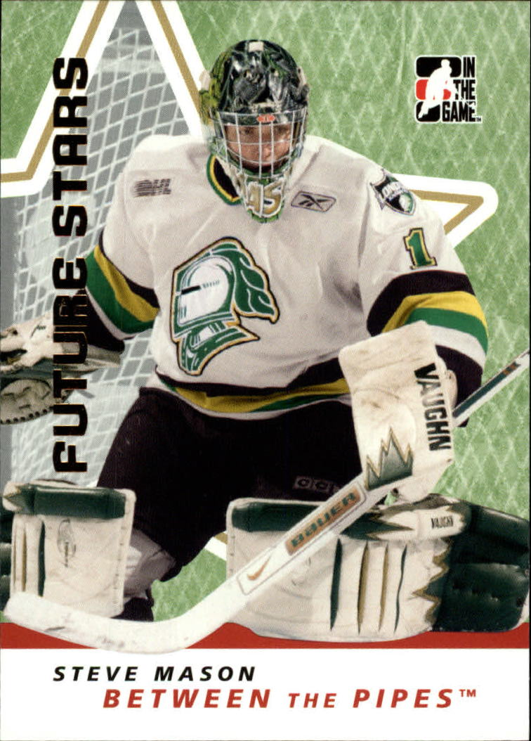 2006-07 Between The Pipes #48 Steve Mason
