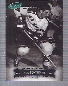 2006-07 Parkhurst #4 Lou Fontinato