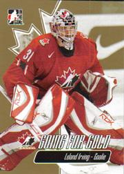 2007 ITG Going For Gold World Juniors #2 Leland Irving