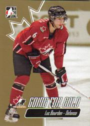 2007 ITG Going For Gold World Juniors #6 Luc Bourdon