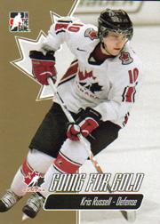 2007 ITG Going For Gold World Juniors #7 Kris Russell