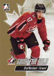2007 ITG Going For Gold World Juniors #15 Brad Marchand