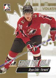 2007 ITG Going For Gold World Juniors #17 Bryan Little