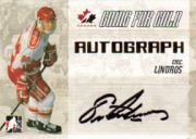 2007 ITG Going For Gold World Juniors Autographs #23 Eric Lindros