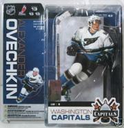 2006-07 McFarlane Hockey Series 13-15 #40 Alexander Ovechkin White FP