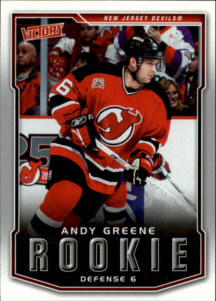 2007-08 Upper Deck Victory #229 Andy Greene RC