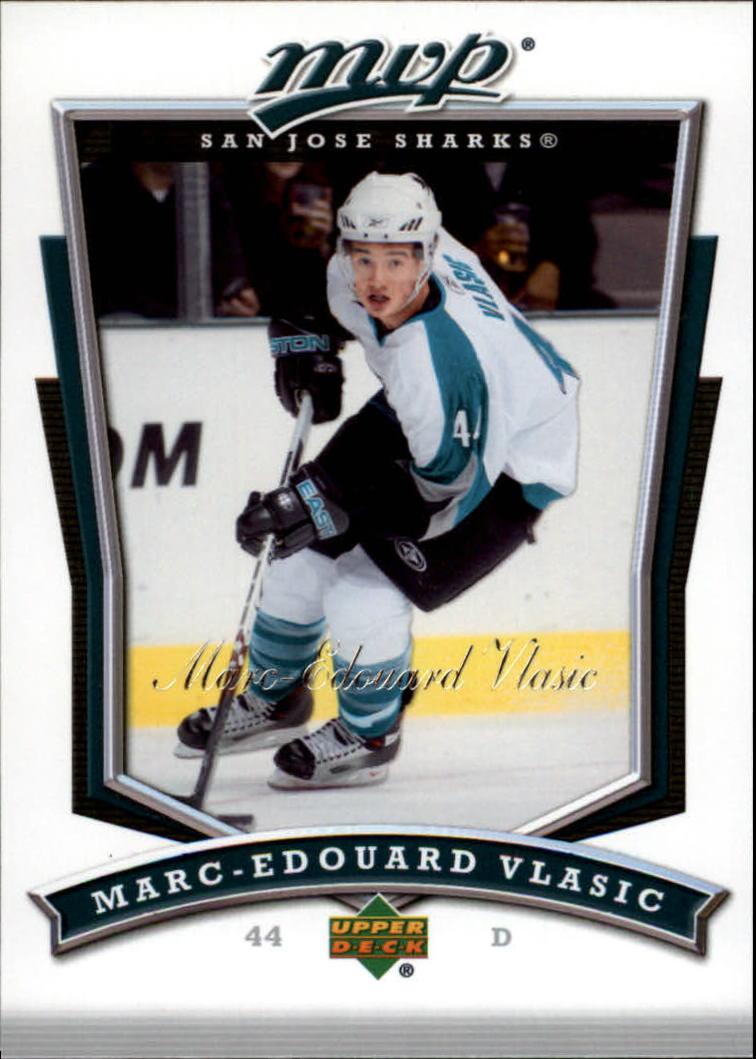 2007-08 Upper Deck MVP #270 Marc-Edouard Vlasic