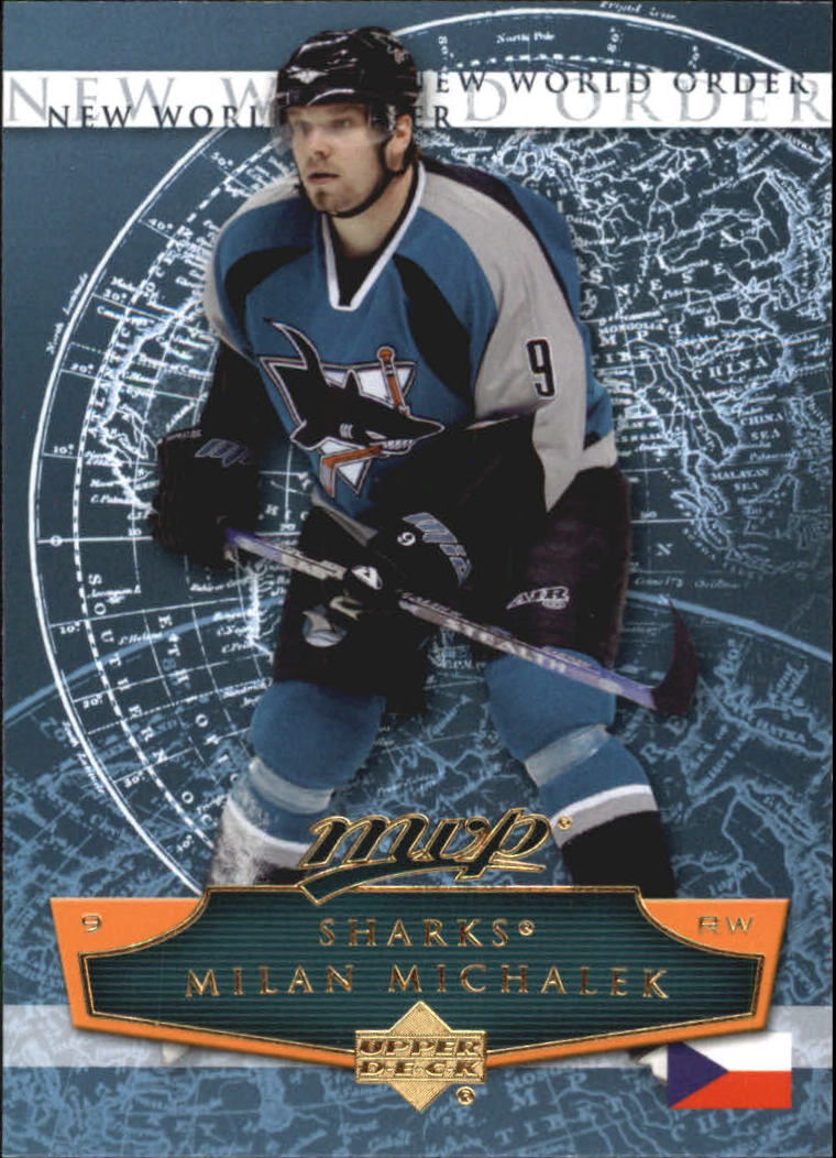 2007-08 Upper Deck MVP New World Order #NW3 Milan Michalek