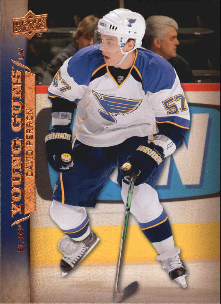 2007-08 Upper Deck #496 David Perron YG RC
