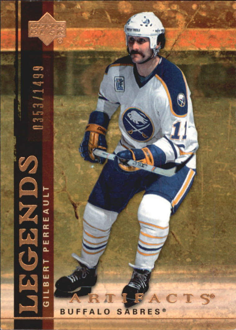 2007-08 Artifacts #108 Gilbert Perreault L