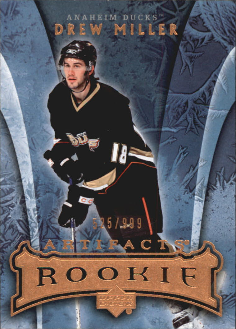 2007-08 Artifacts #166 Drew Miller RC