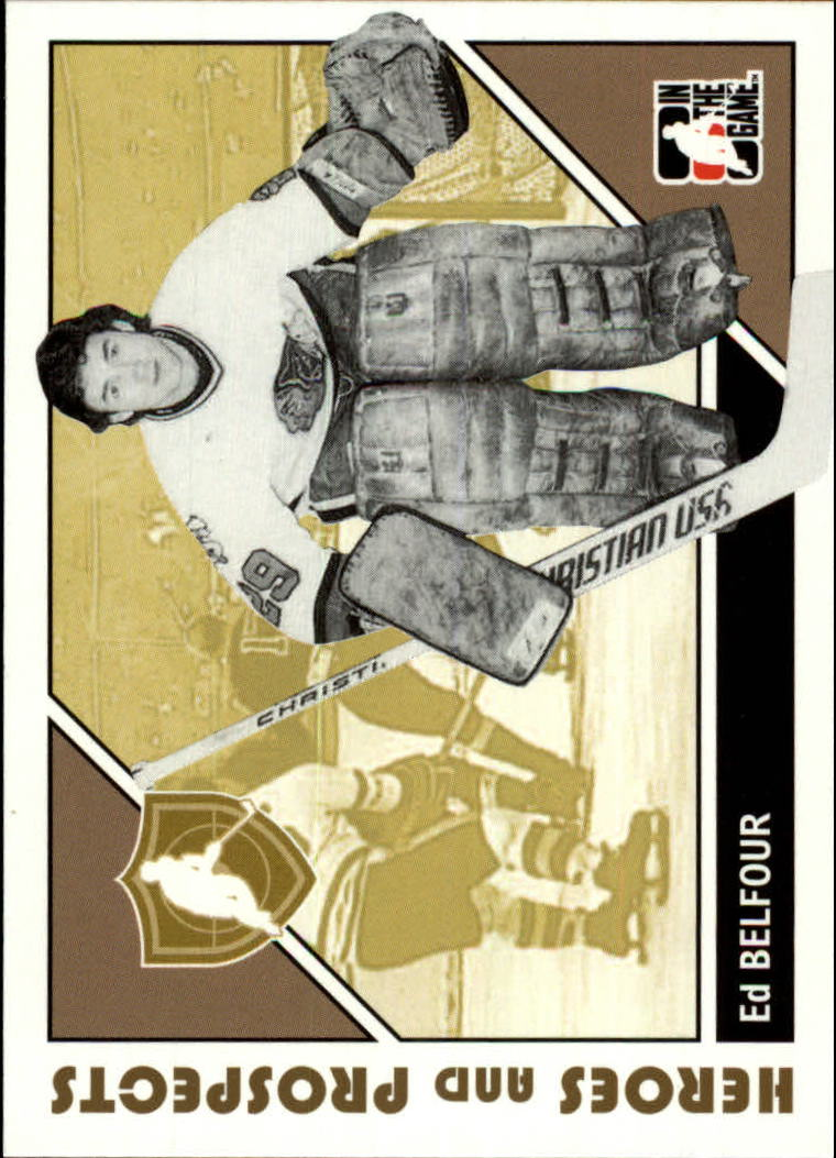 2007-08 ITG Heroes and Prospects #2 Ed Belfour