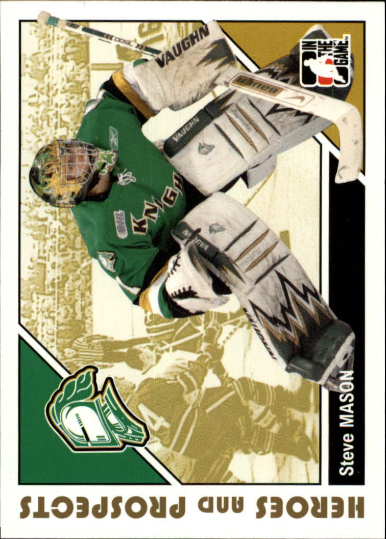 2007-08 ITG Heroes and Prospects #80 Steve Mason