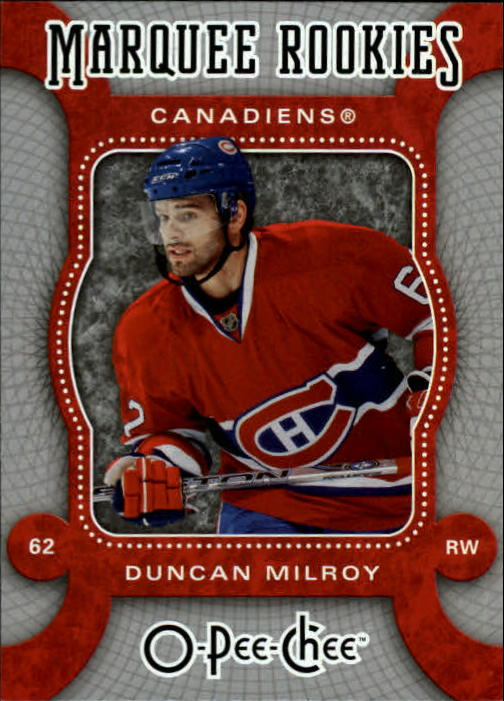 2007-08 O-Pee-Chee #563 Duncan Milroy RC