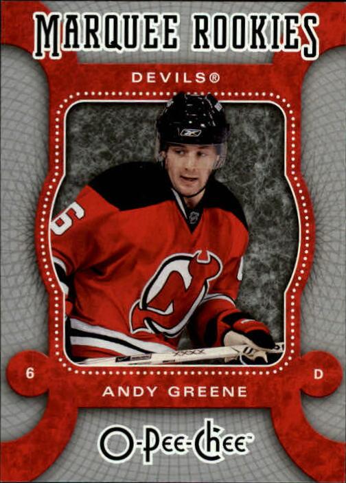 2007-08 O-Pee-Chee #567 Andy Greene RC