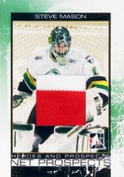 2007-08 ITG Heroes and Prospects Net Prospects Gold #NP07 Steve Mason