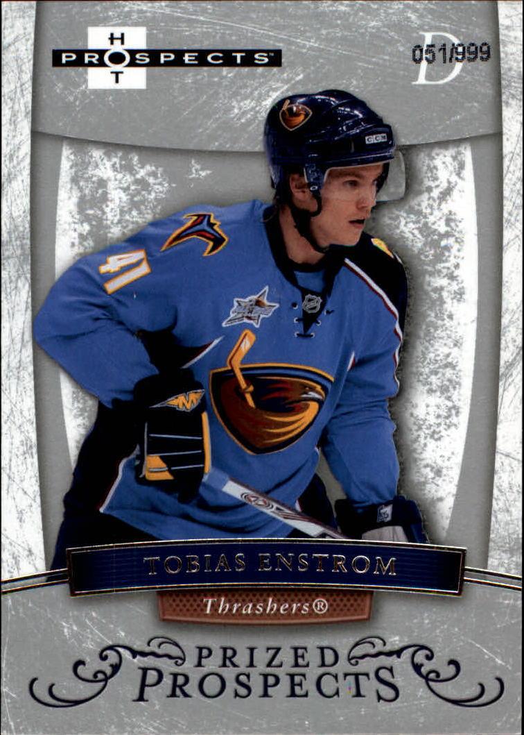2007-08 Hot Prospects #172 Tobias Enstrom RC