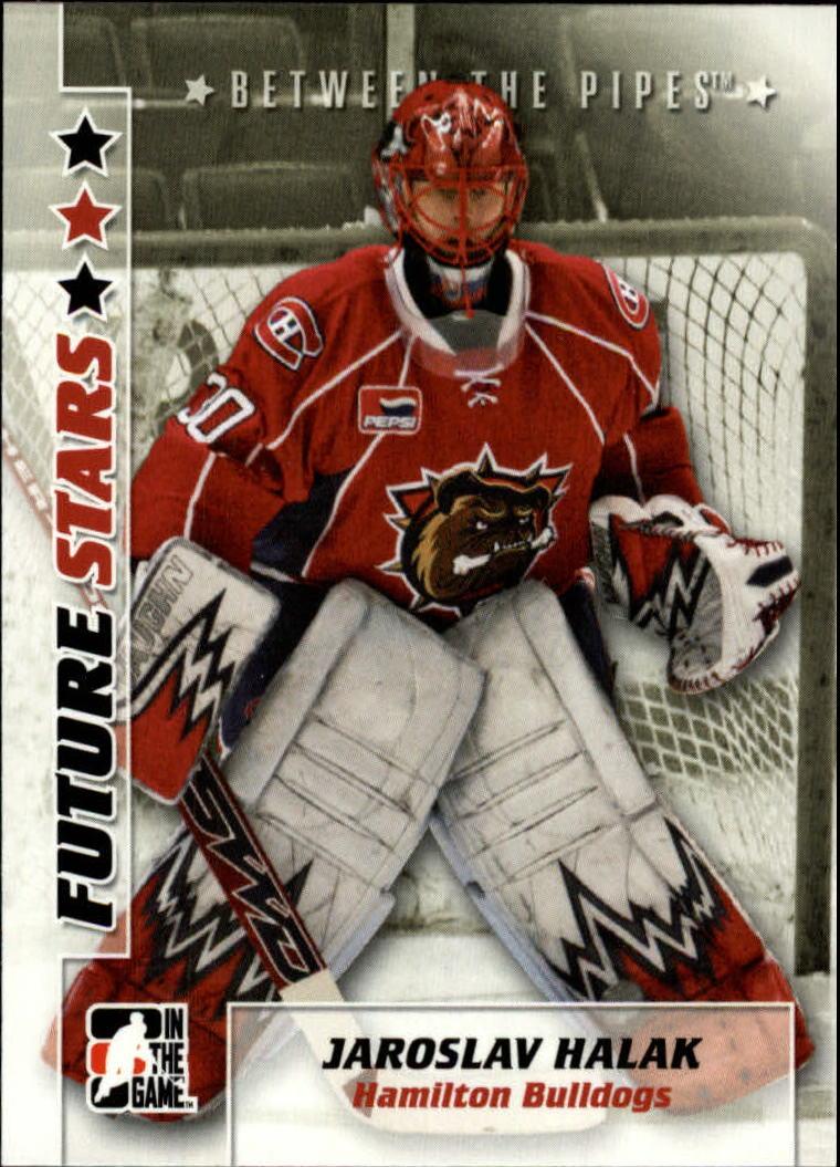 2007-08 Between The Pipes #16 Jaroslav Halak