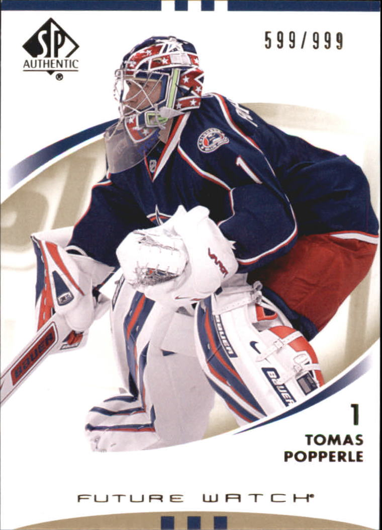 2007-08 SP Authentic #171 Tomas Popperle RC