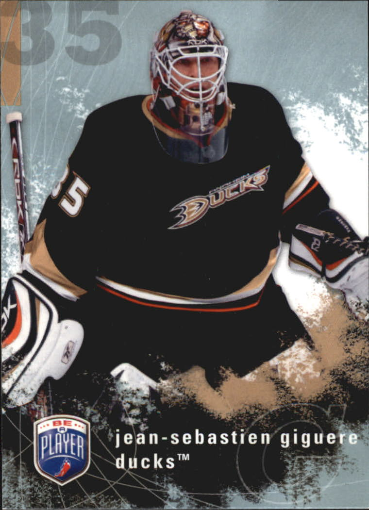 2007-08 Be A Player #2 Jean-Sebastien Giguere