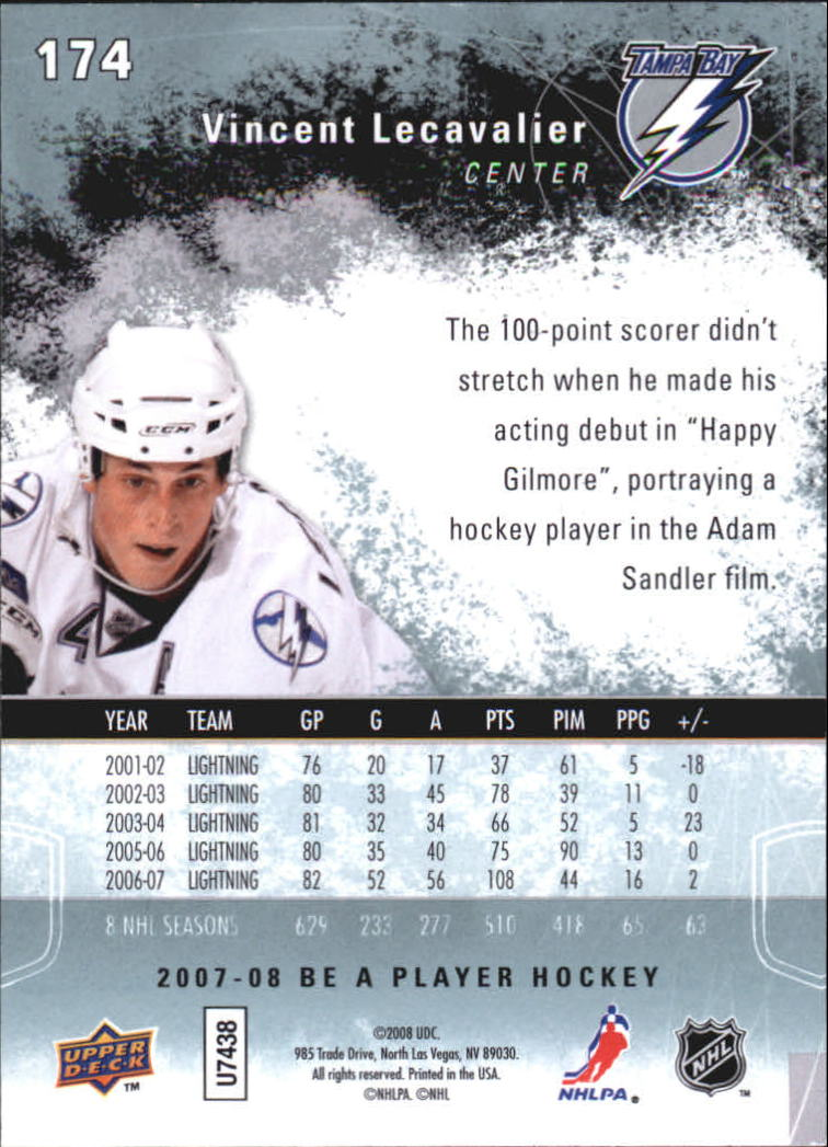 2007-08-Be-A-Player-BAP-Hockey-Cards-Pick-From-List