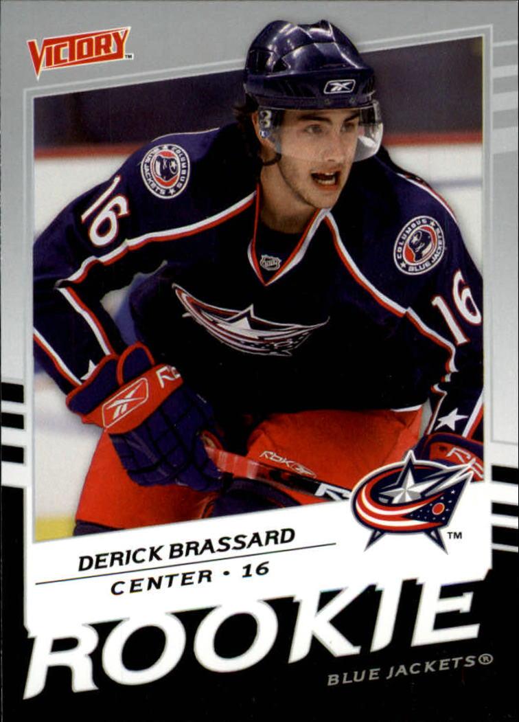 2008-09 Upper Deck Victory #201 Derick Brassard RC