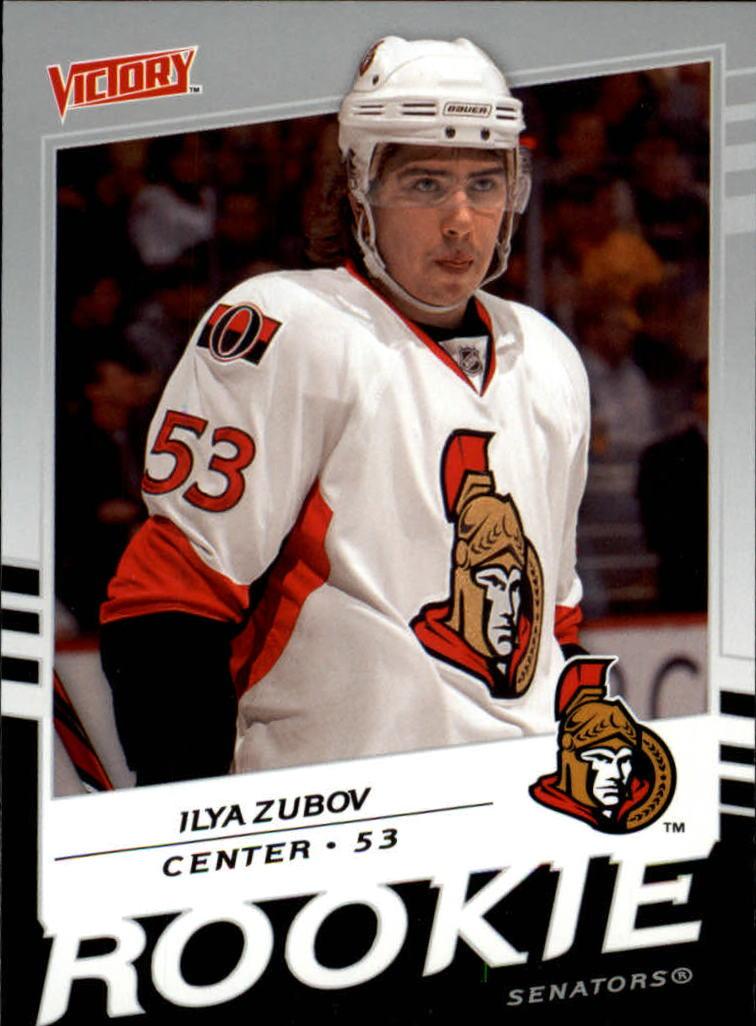 2008-09 Upper Deck Victory #207 Ilya Zubov RC