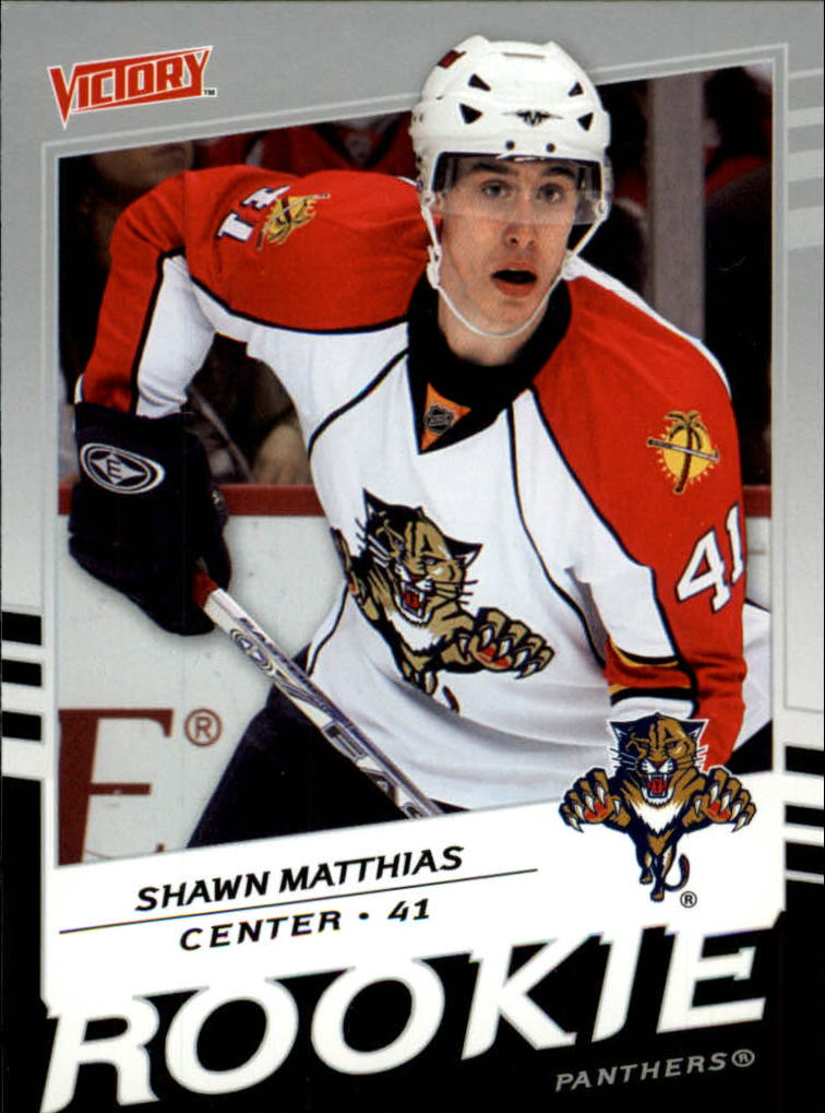 2008-09 Upper Deck Victory #210 Shawn Matthias RC
