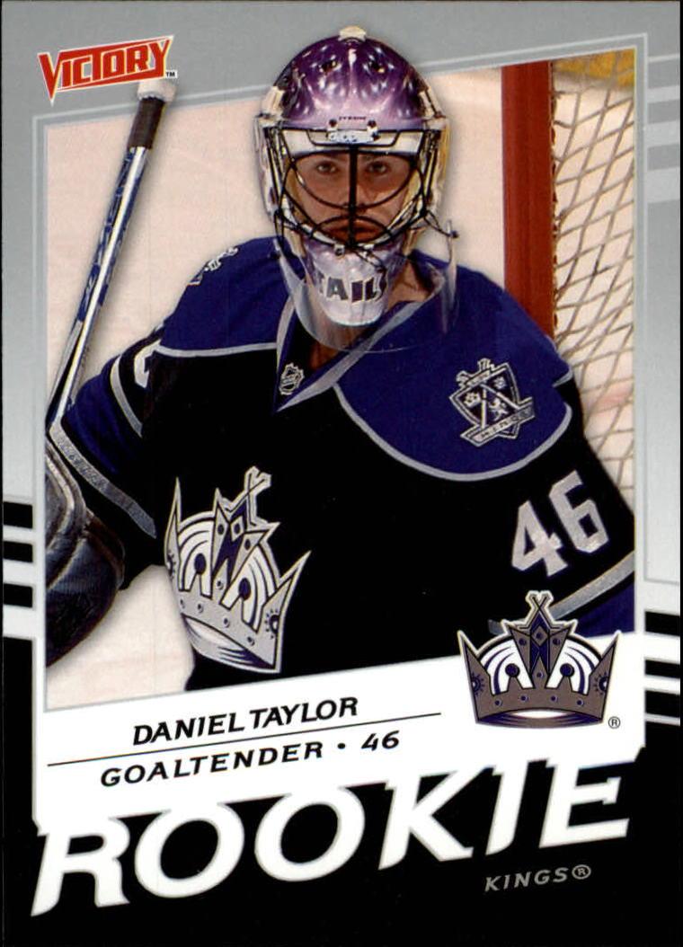 2008-09 Upper Deck Victory #217 Danny Taylor RC