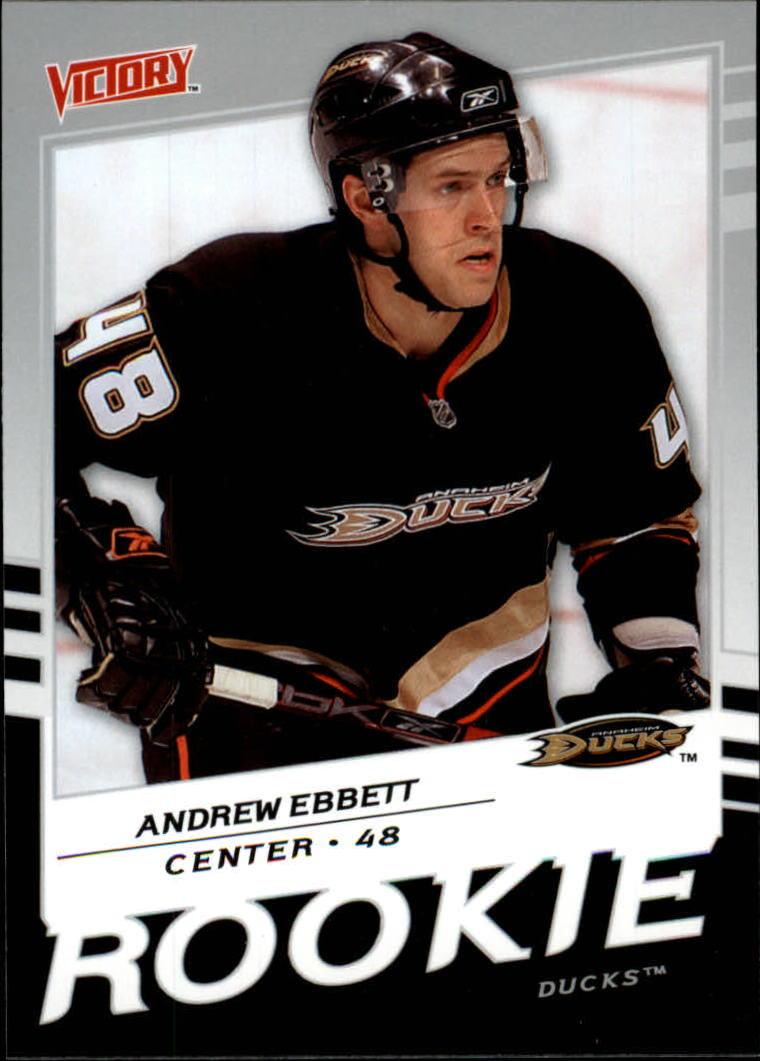 2008-09 Upper Deck Victory #236 Andrew Ebbett RC
