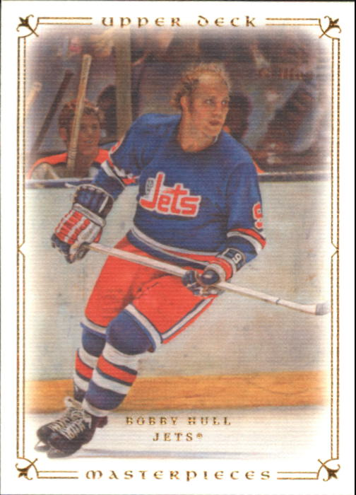 2008-09 UD Masterpieces #27 Bobby Hull