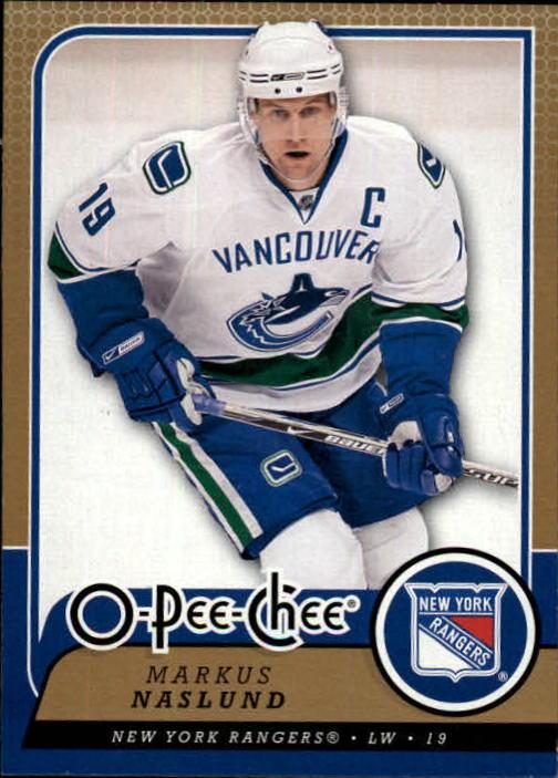 2008-09 O-Pee-Chee #1 Markus Naslund