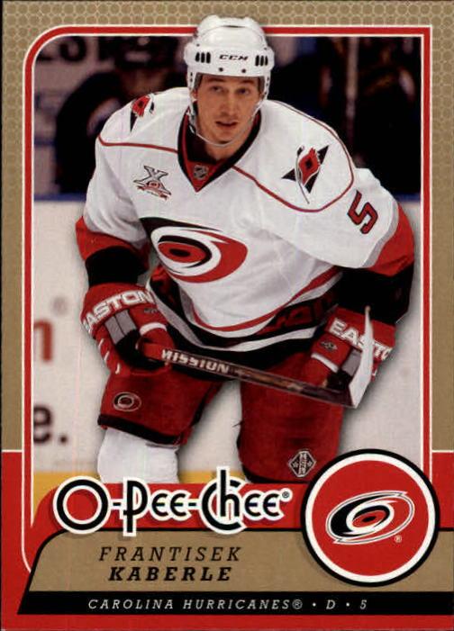 2008-09 O-Pee-Chee #4 Frantisek Kaberle