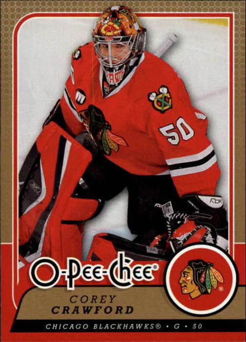2008-09 O-Pee-Chee #351 Corey Crawford