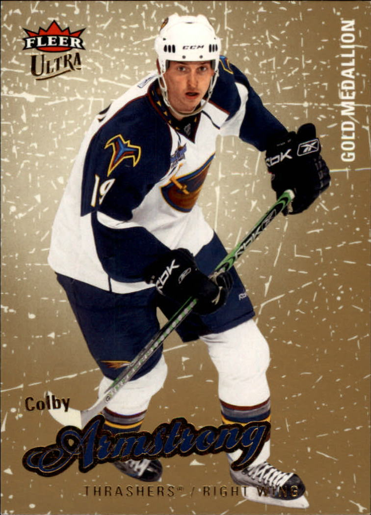 2008-09 Ultra Gold Medallion #3 Colby Armstrong