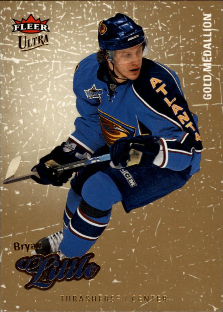 2008-09 Ultra Gold Medallion #5 Bryan Little