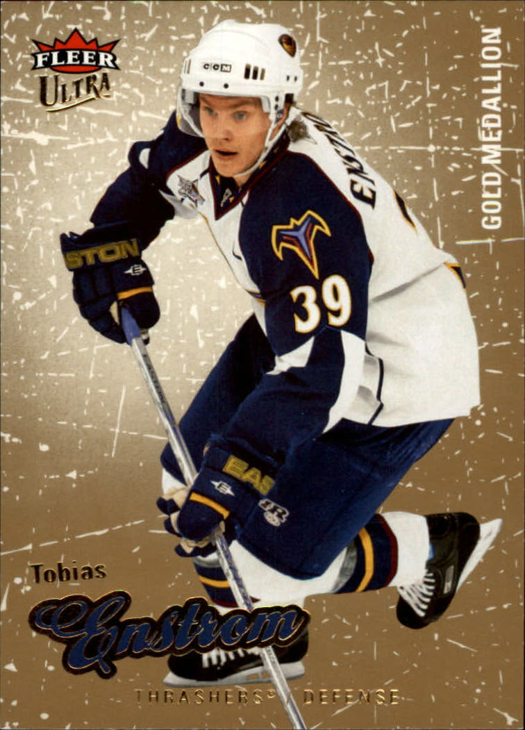 2008-09 Ultra Gold Medallion #6 Tobias Enstrom