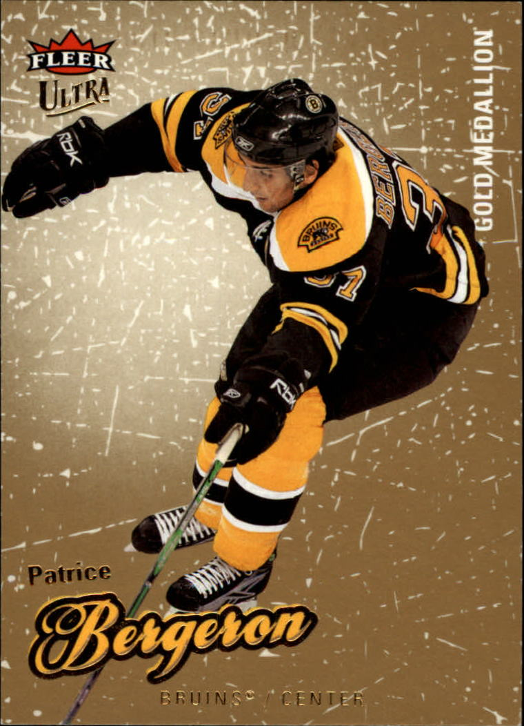 2008-09 Ultra Gold Medallion #7 Patrice Bergeron
