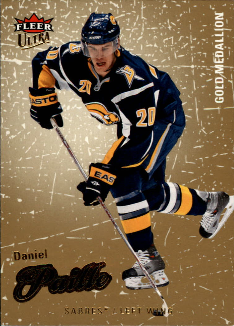 2008-09 Ultra Gold Medallion #20 Daniel Paille