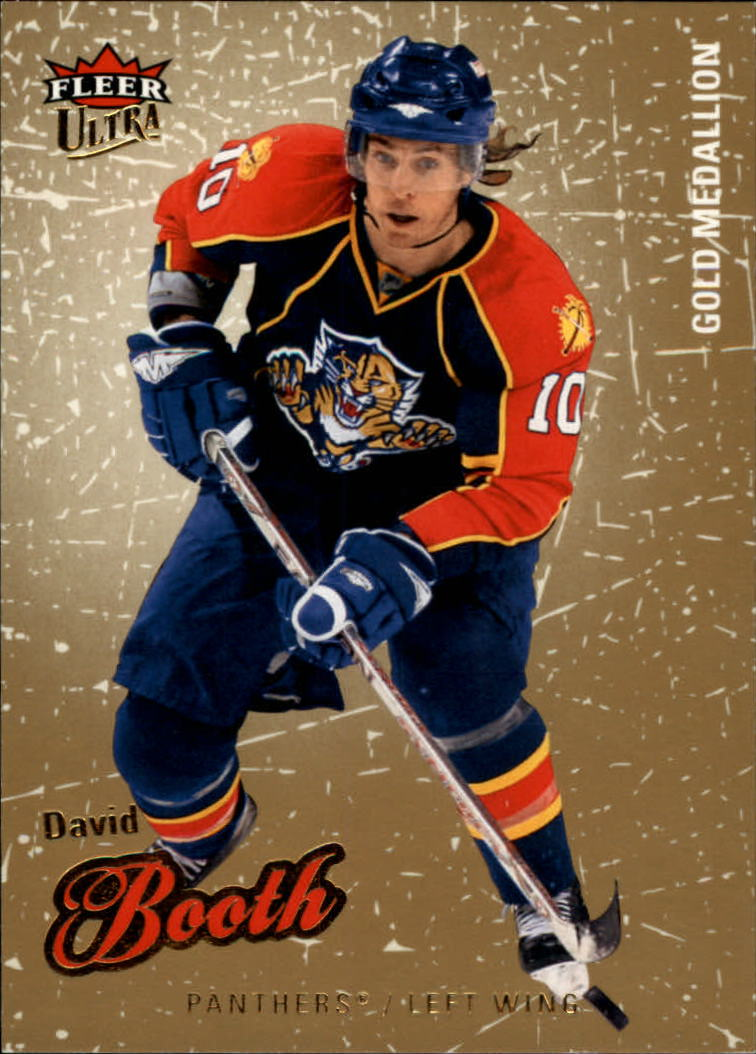 2008-09 Ultra Gold Medallion #29 David Booth