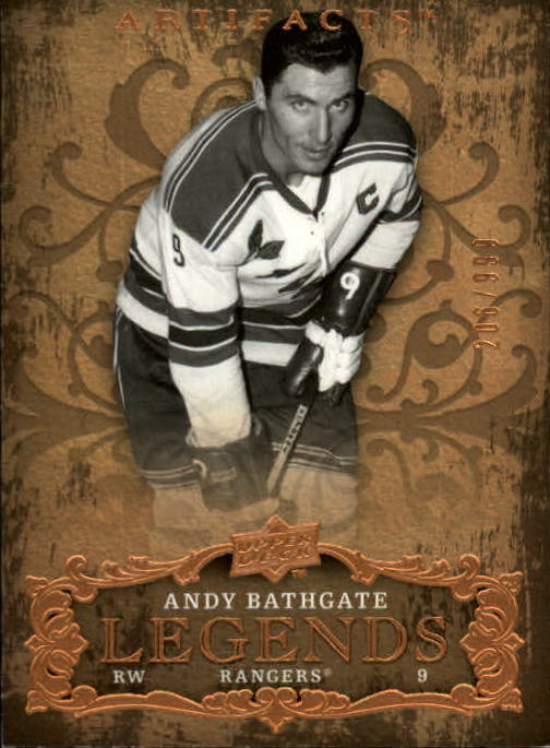 2008-09 Artifacts #113 Andy Bathgate LEG