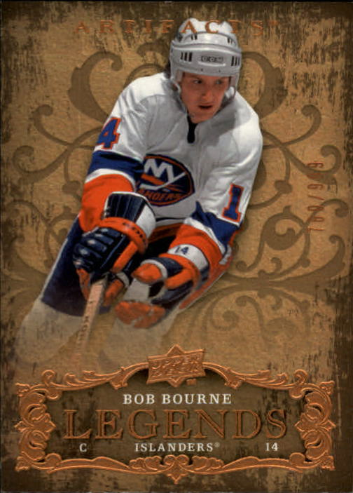 2008-09 Artifacts #117 Bob Bourne LEG