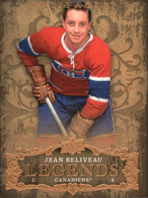 2008-09 Artifacts #119 Jean Beliveau LEG