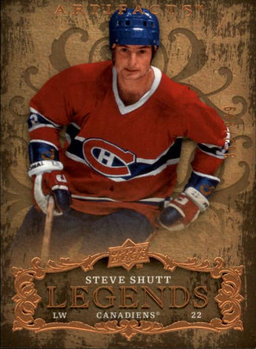 2008-09 Artifacts #122 Steve Shutt LEG