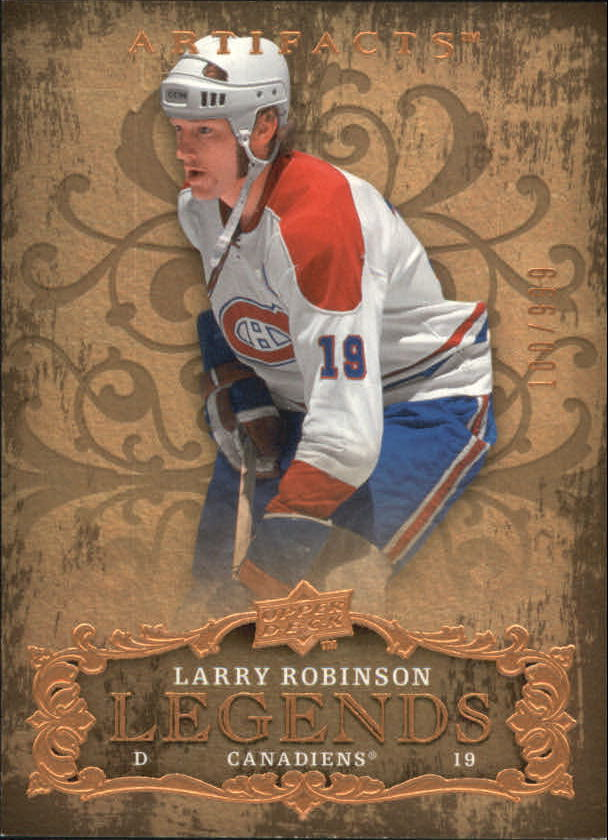 2008-09 Artifacts #123 Larry Robinson LEG