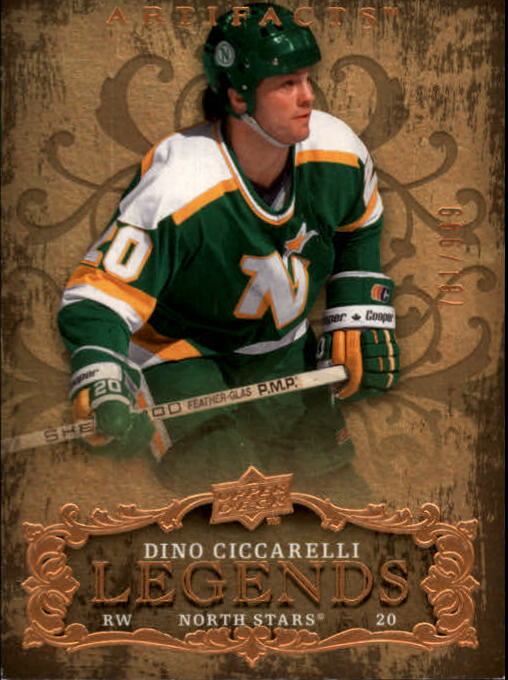 2008-09 Artifacts #125 Dino Ciccarelli LEG