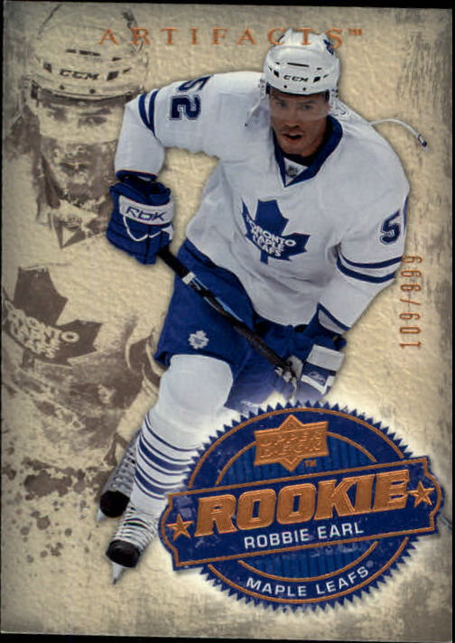 2008-09 Artifacts #206 Robbie Earl RC