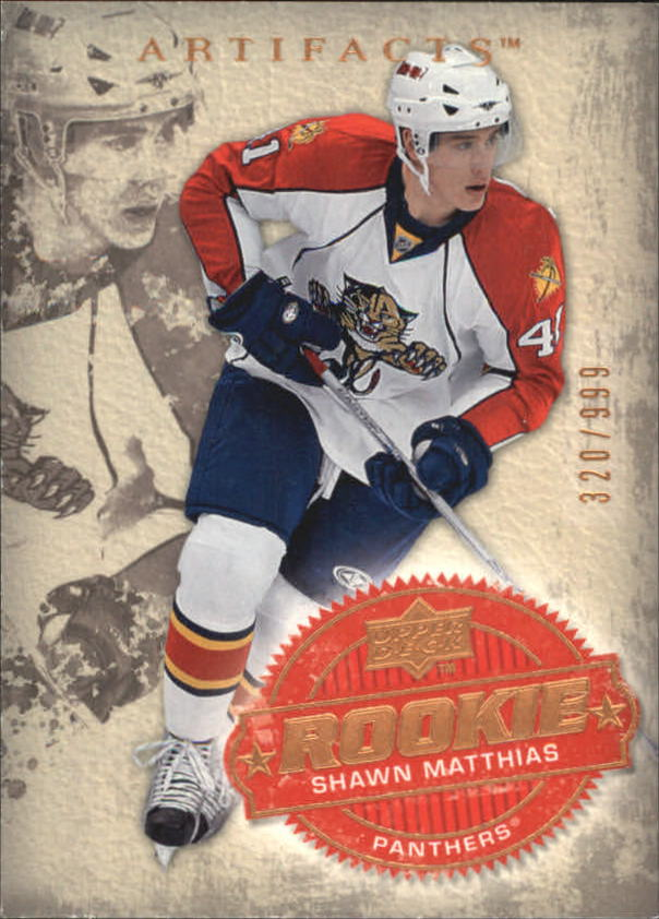 2008-09 Artifacts #210 Shawn Matthias RC