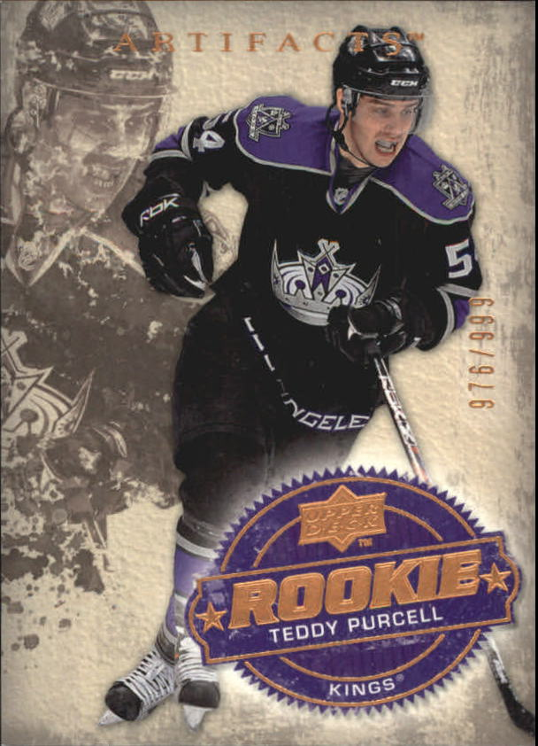 2008-09 Artifacts #212 Teddy Purcell RC